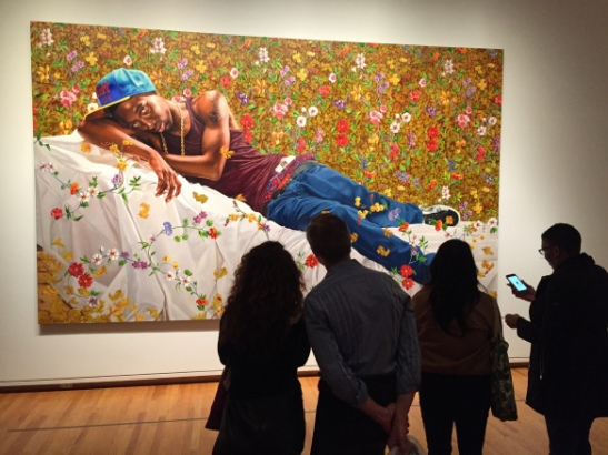 "Contemplating Kehinde Wiley's ""Morpheus"" at the Seattle Museum of Art"
